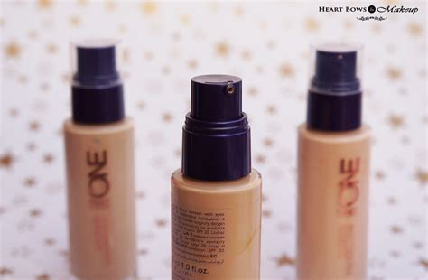 tutorial makeup oriflame oriflame the one illuskin foundation review swatches