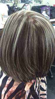 how to put highlights in gray hair best 20 gray hair colors ideas on pinterest dying hair