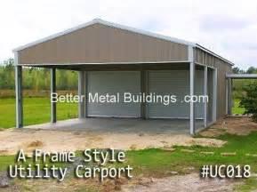 Steel Building Carport Carports Carports And Custom Metal Buildings
