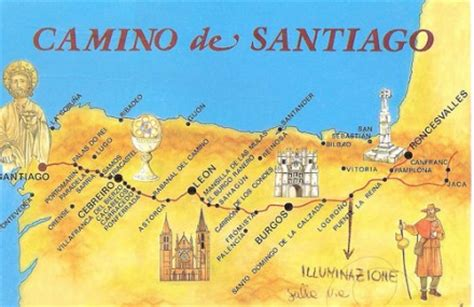 camino de santiago tappe cammino francese di santiago percorsi di trekking in