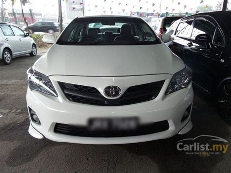 What Type Of Does A Toyota Corolla Use Toyota Corolla Altis 2013 V 2 0 In Johor Automatic Sedan