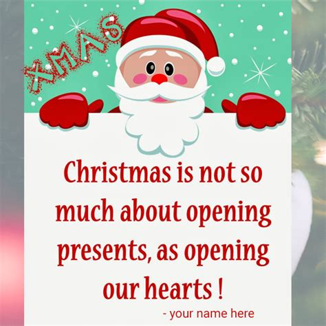write   christmas quotes  cards