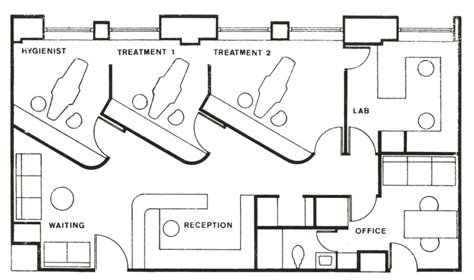 dental clinic floor plan design dental office with a few tweaks salon modify door to