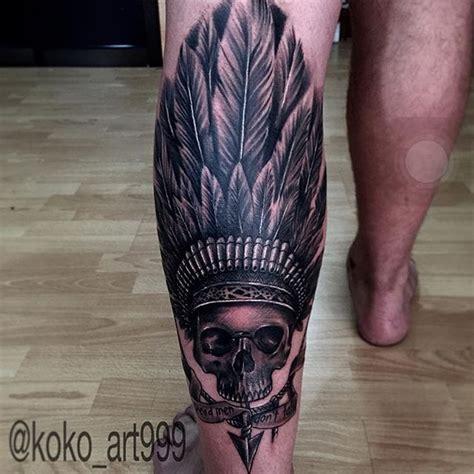 koko tattoo bali 35 majestic indian chiefs skull tattoos tattoodo
