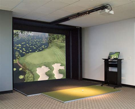 full swing golf simulator cost s2 simulator premium package full swing golf indoor