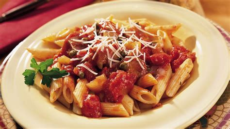 tuna tomato and penne pasta recipe from pillsbury com