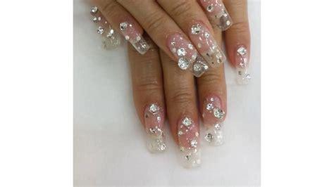 imagenes de uñas acrilicas transparentes sensacionales ideas de u 241 as decoradas con blanco y
