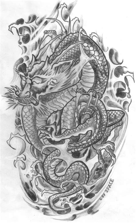 tattoo flash dragon top japanese dragon tattoo flash images for pinterest tattoos