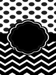 Black And White Binder Cover Templates by Viewing 1 20 Of 6628 Results For Chevron Binder Covers