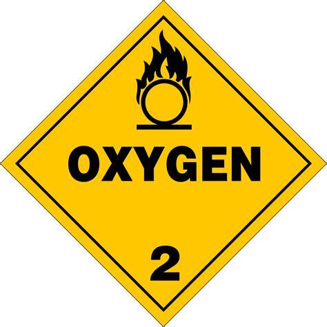 printable hazard label image gallery hazmat placard symbols