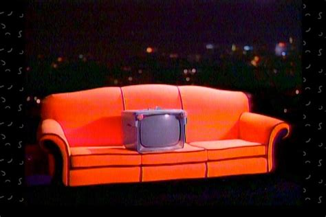 snick orange couch inside nickelodeon s saturday night gamble vanity fair