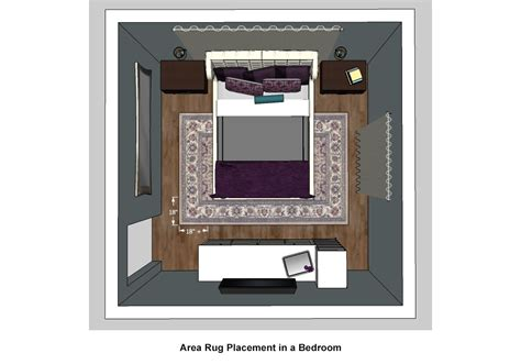 bedroom area rug placement rug buying guide rugs direct