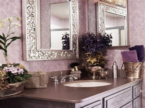 lavender bathroom decor silver and purple bedroom ideas