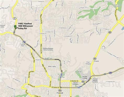 map of arizona prescott pin prescott arizona maps az on