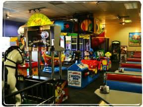 chuck e cheese arcade car interior design