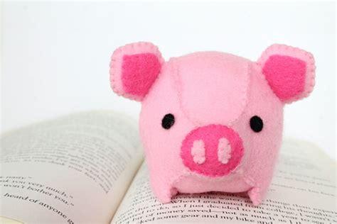 pattern for felt pig pdf pattern felt pig plush