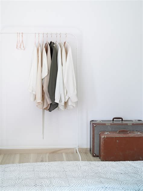 White Clothes Rack by Decordots