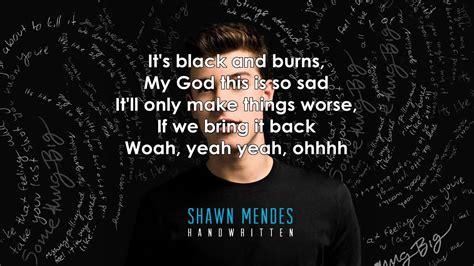 bring it back shawn mendes shawn mendes bring it back lyrics youtube