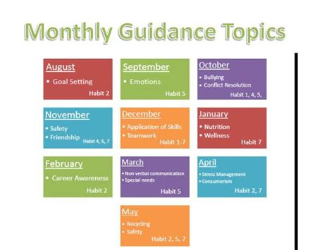 school counselor calendar 17 best images about counseling newletters on