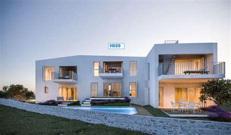neues haus mit grundstück kaufen sibenik dalmatien neubau reihenhaus mit pool