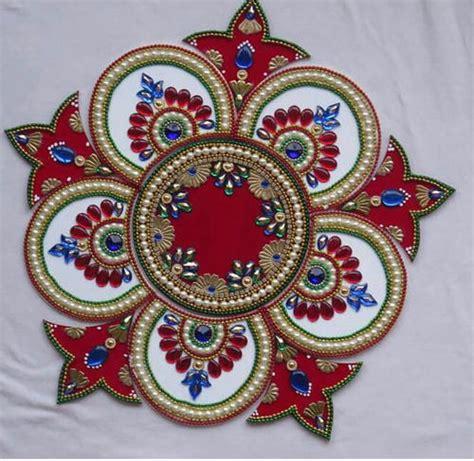 Home Decoration Art by Rangoli Designs Acrylic Rangoli Manufacturer From Mumbai