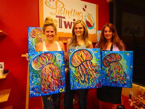 paint with a twist boynton painting with a twist in boynton fl 561 810 0