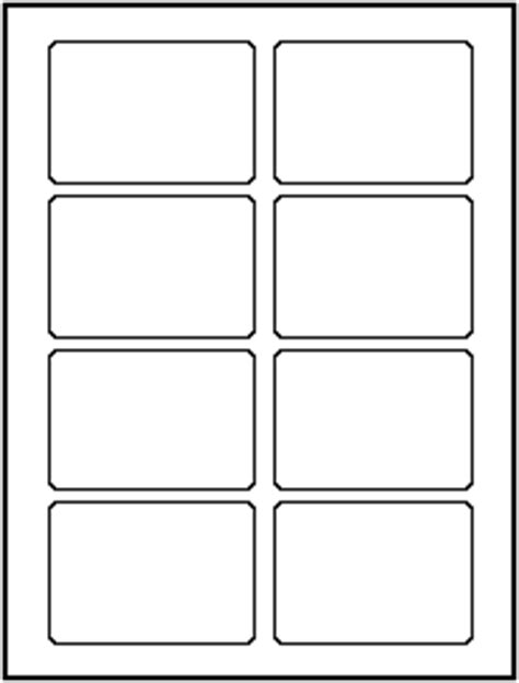labels 8 per sheet template word laser label layouts artcraft computer forms corp