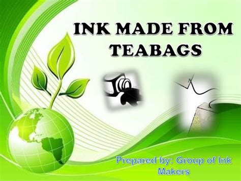 Ink Out Of by Ink Made From Teabags