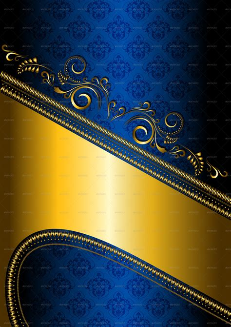 navy blue background decorated the golden royal border royalty free blue and gold background wallpaper wallpapersafari