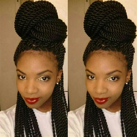single leafs twist pic 29 senegalese twist hairstyles for black women stayglam