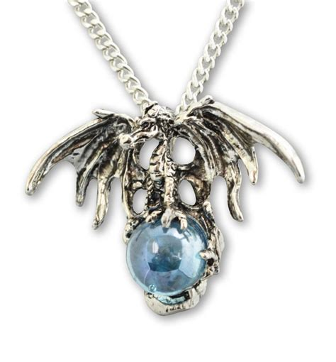 mystical with blue pendant necklace nk