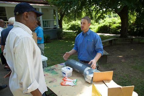 nes energy savers workshop attendees learn easy diy home