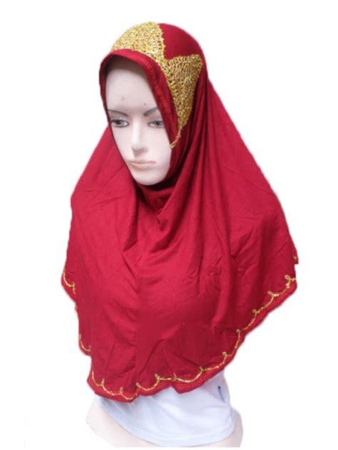 Jilbab Instant Bando Pet Renda jilbab syria piramid toko jilbab grosir jilbab