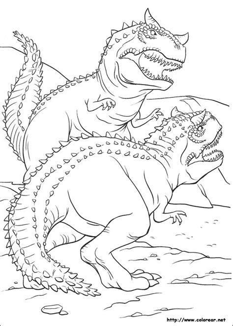 advanced dinosaur coloring pages dibujos para colorear de dinosaurio