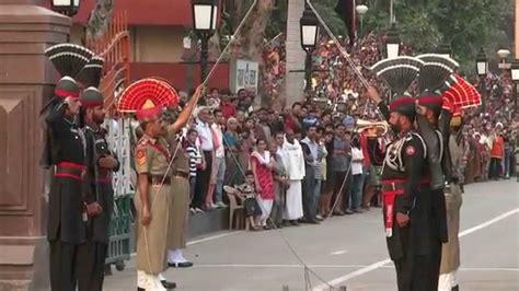 wagah border pakistan hd youtube