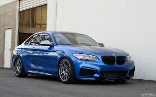 Estoril Blue Bmw Gorgeous Estoril Blue Bmw M235i Gets Transformed Into A Beast