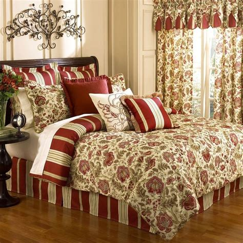 amazon com waverly imperial dress brick king comforter