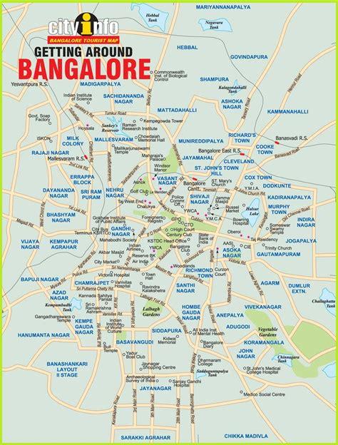 bangalore city map images bangalore map my