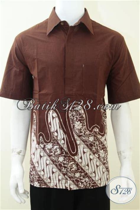 Koleksi Terbaru Kemeja Coklat Sw Kemeja Pria Katun Stretch 1 kemeja batik sederhana simple bahan katun jenis batik
