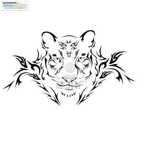 tribal tiger tattoo designs tribal tiger designs tiger with tribal