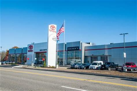 Boch Toyota Attleboro Boch Toyota South Car Dealership In Attleboro Ma