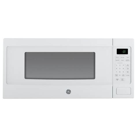 Ge 1 1 Cu Ft Capacity Countertop Microwave Oven Jes1142sj by Ge Profile 1 1 Cu Ft Countertop Microwave In White