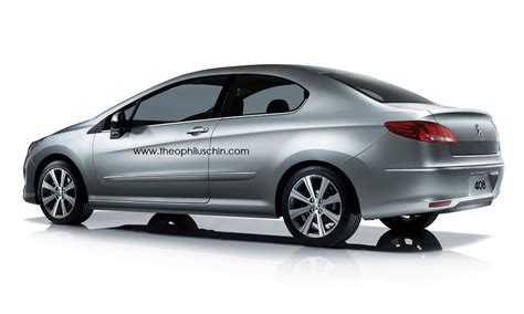 peugeot 408 coupe for sale peugeot 408 coupe rendering autoevolution