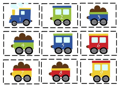 Printable Preschool Train Activities | trains planes and automobiles printable preschool