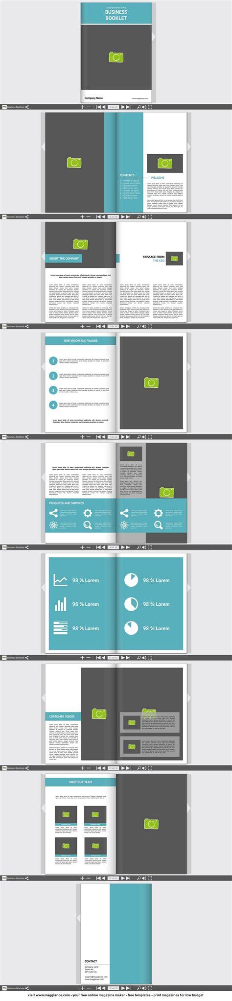 layout indesign vorlagen business brosch 252 re kostenlos online erstellen und g 252 nstig