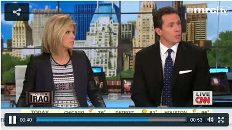 Anchorman Chris Cuomo Almost Bites It In Iraq by Snapshots Chris Cuomo S Terrible Gaffe On