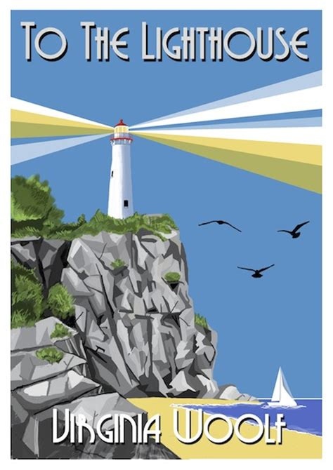 to the lighthouse to the lighthouse book cover by mail4mac on