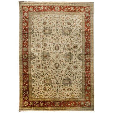Indo Oushak Rug For Sale At 1stdibs Indo Rugs