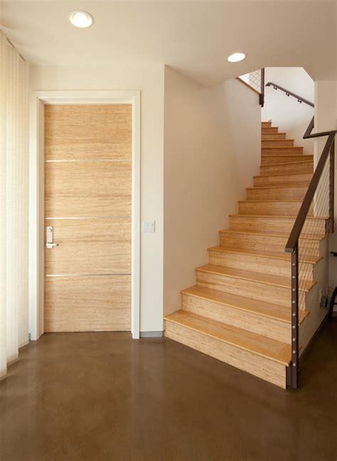 Bamboo Interior Door Bamboo Doors And Floors Contemporary Interior Doors San Luis Obispo By Green Goods