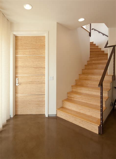 Bamboo Interior Doors Bamboo Doors And Floors Contemporary Interior Doors San Luis Obispo By Green Goods